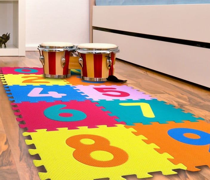 Tapetes para Juegos Infantiles - Fomi Numbers